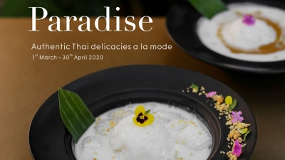 Authentic Thai delicacies a la mode